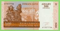 Madagascar - 500 Ariary - 2500 Francs - 2004 - N° A1707775B - Neuf - Madagascar