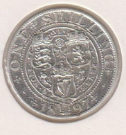 @Y@   Groot Britannie  1 Shilling 1897   (1179)  Zilver / Ag / Prata - I. 1 Shilling