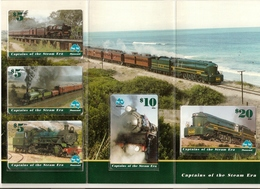 *AUSTRALIA - TRENI* -  Serie Completa In Folder - Australia