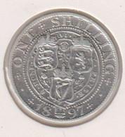 @Y@   Groot Britannie  1 Shilling 1897   (1180)  Zilver / Ag / Prata - I. 1 Shilling