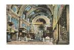 Cp, Malte, St-John Church, écrite - Malte
