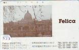 Scheda Telefonica * Giappone * Télécarte Japon * L'Italia Relativi (327) FELICA *  ITALY RELATED * Japan Phonecard * - Advertising