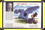 Santé Sobriété -  Buvard -   Alcoolisme  -  Clément Ader  - Aviation  -  Illustrateur Pineau - Buvards, Protège-cahiers Illustrés