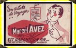 Maroquinerie   -  Buvard -  Articles De Voyages Marcel Avez - M