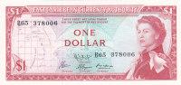EAST CARIBBEANS $1 DOLLAR 1965 ***UNC*** P-13f - Caraïbes Orientales