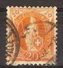 DE7404. SUISSE OBLITÉRÉS, USEDS, 14 DENTS, ( FILIGRANE A OU B. ? ). PRIX FIXE. - 1882-1906 Armoiries, Helvetia Debout & UPU