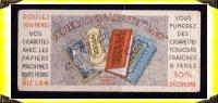 Buvard  -  Papier à Cigarette RIZLA+ - Tabac & Cigarettes