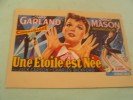 UNE ETOILE EST NEE....J.GARLAND.... - Afiches En Tarjetas