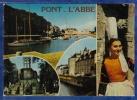 29 PONT L´ABBE Riviere, Chapelle De Lambour, Hotel De Ville, Bigoudène ; Yachts 4 Vues - Animée - Pont L'Abbe