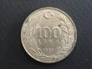1987 - 100 Lire - Turquie - Turquia
