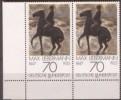 Bundespost Mi.987 F21 Plaatfout Postfris Paar - [7] West-Duitsland