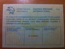 USA Etats Unis 42 Cents Vierge/neuf UPU Union Postale Universelle COUPON-REPONSE INTERNATIONAL C22 C 22 - Verenigde Staten