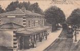 LOZANNE - La Gare ( Vue Prise Du Pont Du Chemin De Fer ) (animée Voire Description) Dép69 - France