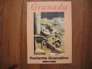 Petit Livret Sur Granada    Espagne      Poniente Granadino - Non Classés