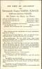 Doodsprentje Zuster - Non Maria Ignace ( Julienne Voogd ) Moeskroen 1910 - Pittem - Sint Kruis 1955 - Vieux Papiers