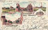 Ansichtskarte Bochum-Wattenscheid / Günnigfeld - Lithographie Mit Zeche Hannover - Bochum