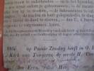 Notre Dame De Tongres - 1866 Approx. -  Litho - Text On Reverse Print : 1e Heilige Kommunie - Imágenes Religiosas