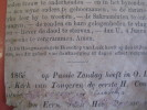 Notre Dame De Tongres - 1866 Approx. -  Litho - Text On Reverse Print : 1e Heilige Kommunie - Andachtsbilder