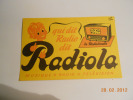 BUVARD PUBLICITAIRE 1950/1960 / RADIOLA / MUSIQUE RADIO TELEVISION - Buvards, Protège-cahiers Illustrés