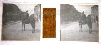 $3A3- WWI Rivista Militare I Bersaglieri Di Corsa - San Pietro In Carso Sv. Peter Na Kranjskem 1/6/19 - Diapositiva Su Vetro