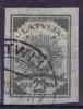 Letland Latvija: Mi 11 C ,  Non Perforated Used 1919  Cat Value 60 Euro