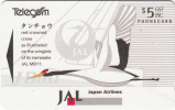 NEW ZEALAND(GPT) - Japan Airlines, CN : 391CD, Tirage 22500, Mint - Aerei