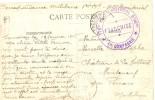 MILITARIA CPA Avec Cachet Militaire 115° Bataillon Territorial D'Infanterie 1ère Compagnie - Militaria