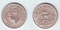 East Africa 1 Shilling 1944 SA - British Colony