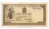 """Roumanie Romania 500 Lei """" 26 - 01 - 1943 """" AUNC  RARE Date!!! # 1 - Romania"""