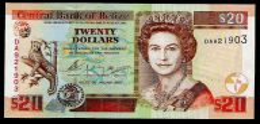 BELIZE - P69a - 2003 - $20 - UNC - Belize