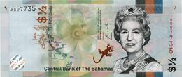 BELIZE 5 DOLLARS (P39a) 1980 QEII AU/UNC - Belize