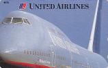 Télécarte Japon / 110-155618 - AVION / UNITED AIRLINES - AIRLINE Plane JAPAN Phonecard USA - FLUGZEUG - 189 - Avions