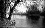 PN - 0024 - VIENNE - LESIGNY SUR CREUSE - Les Bords De La Creuse -  Originale - Plaques De Verre