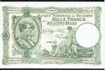 BELGIUM 1000 FRANCS 200 BELGAS 1942 Pk 110 AU-UNC. - Zonder Classificatie