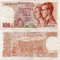Belgium 5 Francs-1 Belga 1943 (1944) XF Banknote P-121 - Zonder Classificatie