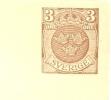 Sweden Enveloppe 1919 Michel Nr U16 Unused - Postwaardestukken