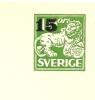 Sweden Enveloppe 1957 Michel Nr U 25 Unused - Postwaardestukken
