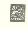 Sweden Enveloppe 1963 Michel Nr U 27 Unused - Postwaardestukken
