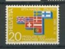 SUISSE, SWITSERLAND 1967 YV 785 EFTA. MNH, POSTFRIS, NEUF**. VERY FINE QUALITY. - Europa-CEPT