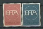 NORWAY, NORVEGE 1967 YV 505-506 EFTA. MNH, POSTFRIS, NEUF**. VERY FINE QUALITY. - Europa-CEPT