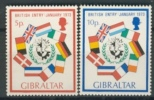 GIBRALTAR 1973 YV 292-293 MEMBERSHIP OF GREAT BRITAIN EUROPEAN COMMUNITY. MNH, POSTFRIS, NEUF**. VERY FINE QUALITY. - Europa-CEPT
