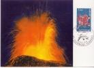 Carte Maximum , Premier Jour,L'auvergne  Clermont Ferrand 4.10.75 - 1970-79