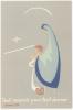 IMAGE PIEUSE SCOUTS ET GUIDES DE MELUN MONTGERMONT - 27 MAI 1956 - Padvinderij