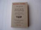 """Livre ésotérique"""" Traité De Chimie Philosophique Et Hermetique"""" - 1901-1940"""