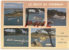 Golfe Du Morbihan - Les Promenades En Vedettes, Ref 1202-815 - France