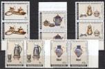 Rumänien; 1992; Michel 4771/5 **; Porzellan, Doppelt - 1948-.... Republics