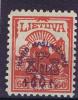 Lietuva / Lithuanie: 1924 Michel Nr 233 MH / Neuf*
