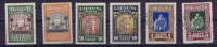 Lietuva / Lithuanie: 1933 Michel Nr 364 -371 A, MH/Neuf*/used