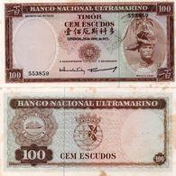 Timor 100 Escudos 1963 See Scan - Timor