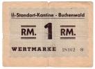 BUCHENWALD / Standort-Kantine // 1 RM. - A Identifier